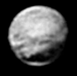 Složený snímek ze vzdálenosti 13,5 milionu kilometrů