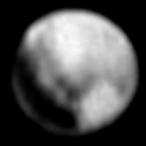Snímek Pluta ze 1.7. 22:54 UTC pořízený ve vzdálenosti 14,9 milionu kilometrů. Autor: Kenny007 / forum.kosmonautix.cz