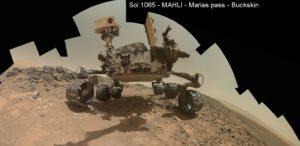 Curiosity už tři roky brázdí povrch Marsu