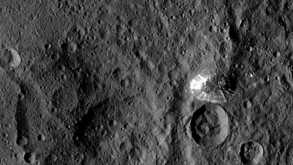 Hora na trpasličí planetě Ceres
