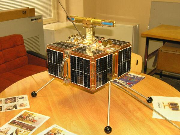 Testovací exemplář družice Magion-1