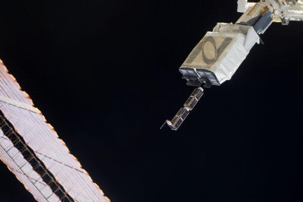 Vypouštění cubesatů z Mezinárodní kosmické stanice