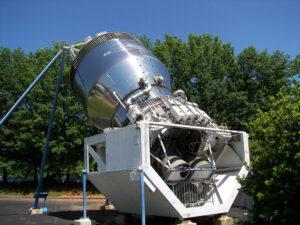 Letový exemplář stupně Centaur-G je dnes vystaven větru a dešti v muzeu ve městě Huntsville (stát Alabama)