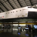 Endeavour v California Science Institute. Foto: Gene Blevins / LA Daily News