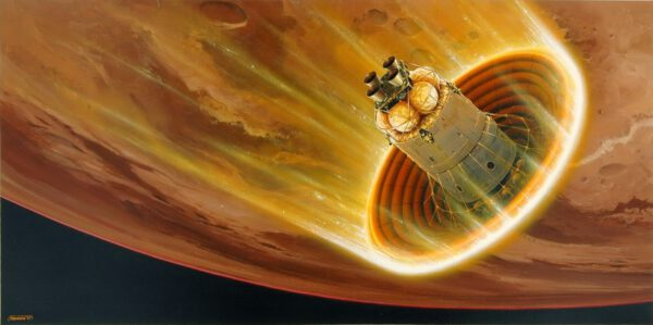 Dopravit tuny potřebného vybavení k Marsu bude jen metou v půlce cesty. S pomocí nafukovacího tepelného štítu LDSD urazíme zbytek.
