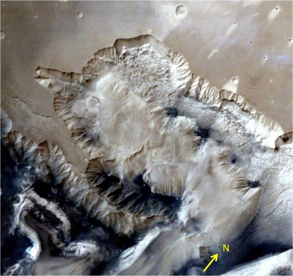 Ophir Chasma. ISRO/MOM