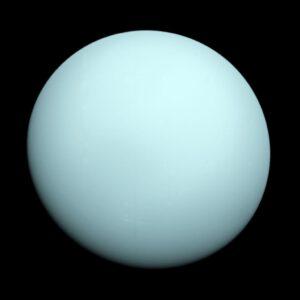 Uran vyfocený sondou Voyager 2