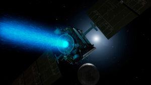 pohon pro meziplanetární prostor. Tady na sondě Dawn mířící k planetce Ceres.