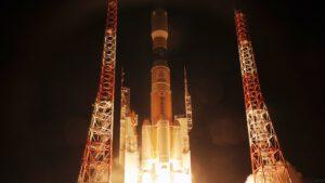Raketa H2B vynáší HTV-5