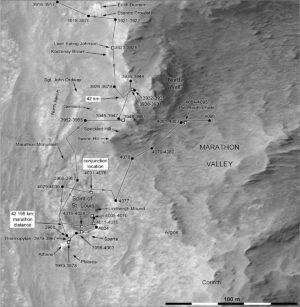 Sol 4096 mapa NASA/JPL/Phil Stooke