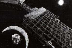 Jeden z konceptů NASA zabývající se stavbou solární elektrárny ve vesmíru.