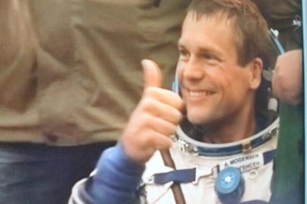 Andreas Mogensen po přistání