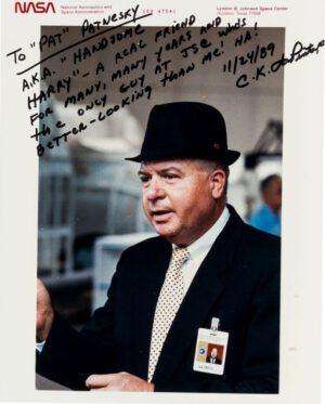 Chuck La Pinta - osobní zachránce Gene Cernana