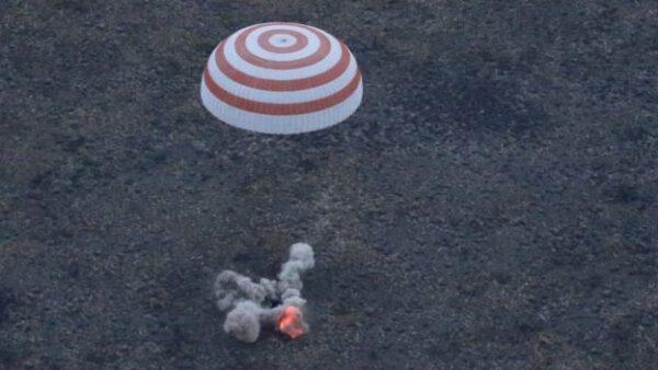 Sojuz TMA-16M přistál