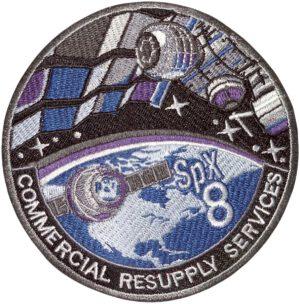 Logo mise CRS SpX-8 v podání NASA