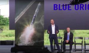 Tisková konference a Jeff Bezos