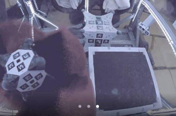 "Hedgehog: vlevo stanford, vpravo JPL. Provádění manévru ""tornádo"" zdroj: regmedia.co.uk"