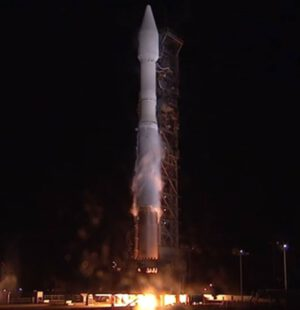 Start rakety Atlas V 401 na misi NROL-55