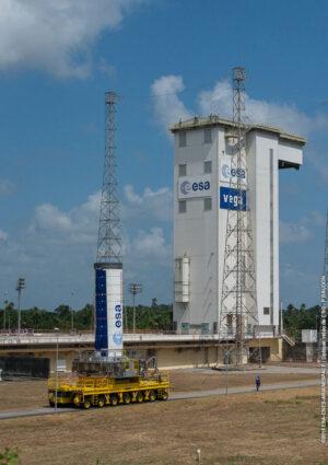 P80 - První stupeň rakety Vega pro misi LISA Pathfinder