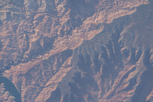 Hornatý terén v Utahu