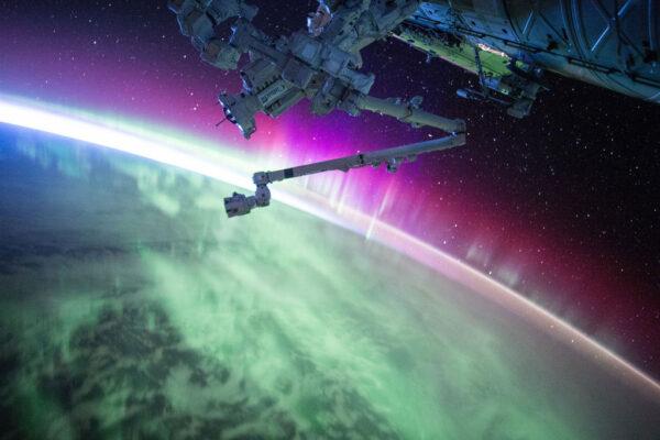 Další vděčný pohled na polární záři.