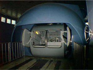 Testy vlivu gravitačního přetížení na efektivitu poskytování zdravotní péče byly realizovány na centrifuze Gagarinova centra pro výcvik kosmonautů (Hvězdné městečko nedaleko Moskvy).