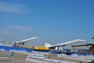 Concorde a Tupolev Tu-144 -dvě největší lákadla muzea v Sinsheimu