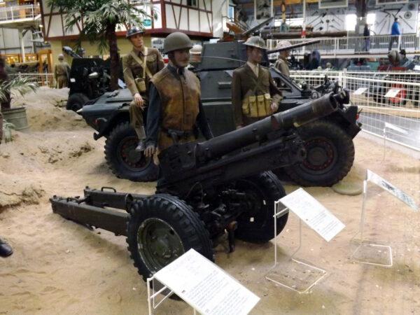 Expozice vojenské techniky