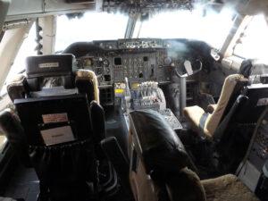 Pilotní kabina Boeingu 747