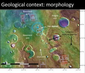 Morfologický rozbor oblasti Oxia Planum
