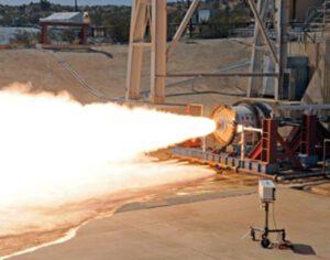 Zkušební zážeh motoru LEO-7