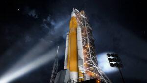 Nová vizuální podoba rakety SLS