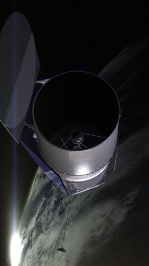 Představa teleskopu WFIRST-AFTA