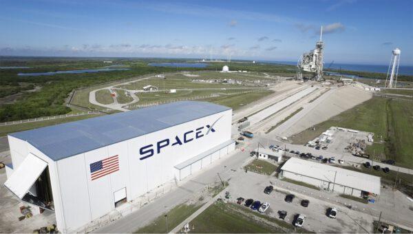 Rampa 39A a montážní hala SpaceX