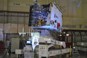 Letový exemplář přeletového stupně pro misi Bepi Colombo