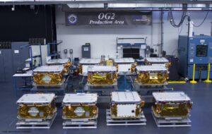 Satelity ORBCOMM pohromadě