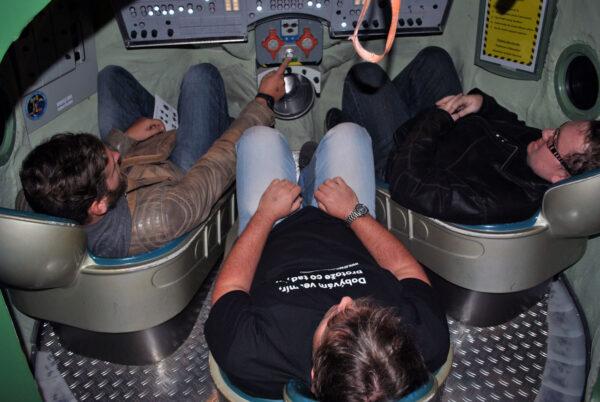 Simulátor Sojuzu vyzkoušeli i tři redaktoři našeho portálu.