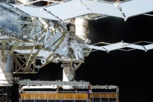 Vesmírná vycházka na ISS během Expedice 45. Zdroj: NASA / Flickr