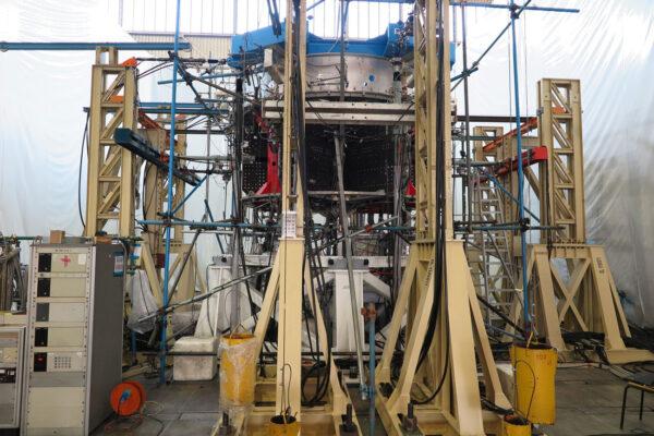 Testovací exemplář servisního modulu lodi Orion