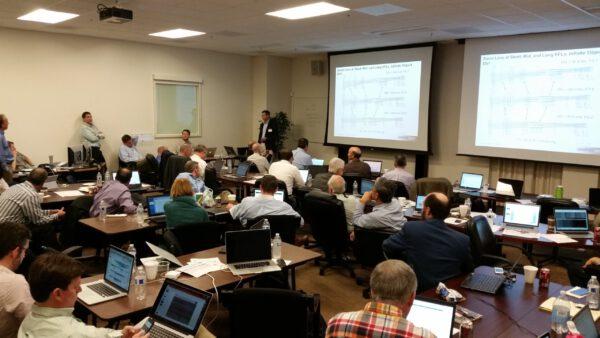Pohled na setkání 28. až 29. 10. 2015, kde se posuzoval návrh Mastcam-Z. Foto: Jim Bell