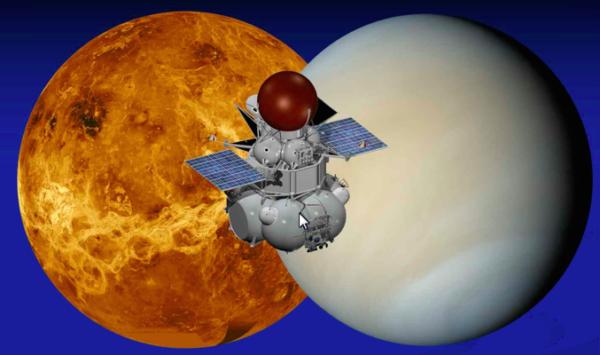 Návrh sondy Veněra-D