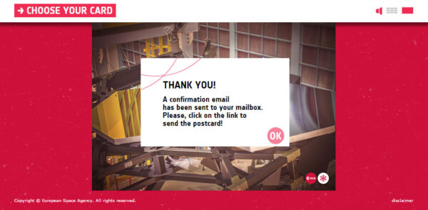4. obrazovka - Navštivte svou mailovou schránku, ve které byste měli mít zprávu od generátoru těchto přání. Nyní stačí zprávu otevřít a kliknout na odkaz v ní obsažený. Tím se Vaše přání definitivně odešle.