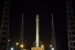 Archivní snímek z června 2014 - raketa Falcon 9 v1.1 tehdy vynesl na oběžnou dráhu šest družic Orbcomm
