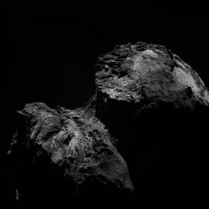 Kometa 67P, místo, kde žije Philae