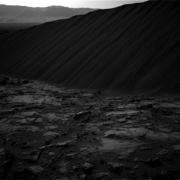 Okraj duny Namib