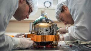 Netěsnící pouzdro senzorů přístroje SEIS.