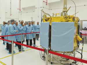 Primárním nákladem byl satelit Teleos 1