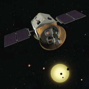 Vizualizace teleskopu TESS