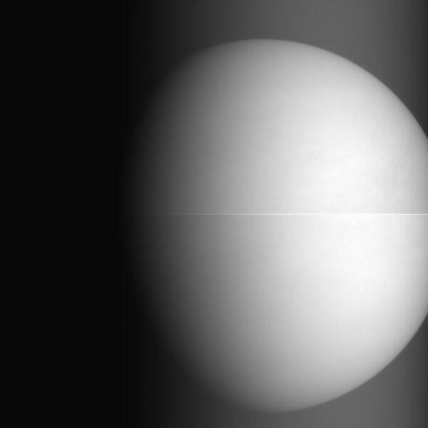 První snímek sondy Akatsuki planety Venuše, který byl pořízen v infračerveném spektru