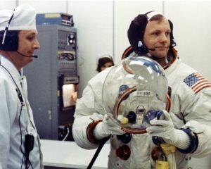 Armstrong v den startu Apolla 11